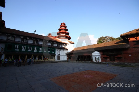 Temple building hanuman dhoka durbar square kathmandu.
