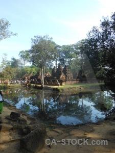 Temple cambodia asia buddhist ruin.