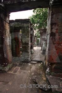 Temple khmer asia cambodia ruin.