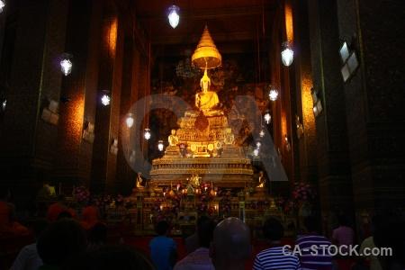 Temple of the reclining buddha thailand wat phra chettuphon wimon mangkhlaram ratchaworama pho buddhism.