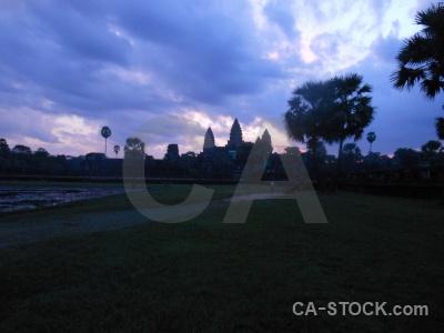 Temple preah pisnulok sunset asia angkor.