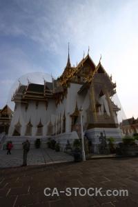 Temple royal palace bangkok building ornate.