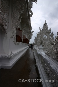 Temple thailand white person asia.
