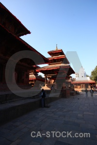 Temple unesco nepal buddhism wood.