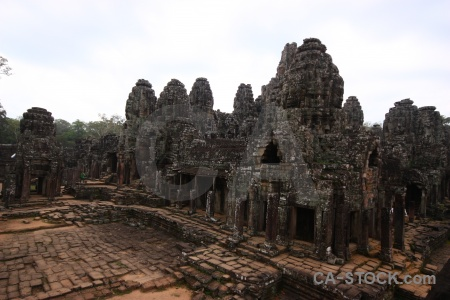 Temple unesco tree angkor asia.