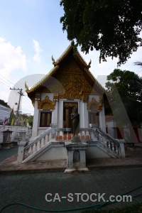 Temple wat muen larn gold asia tum.