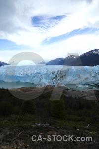 Terminus lago argentino lake patagonia perito moreno.