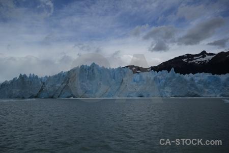 Terminus lake argentino patagonia perito moreno water.