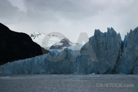 Terminus mountain south america argentina glacier.