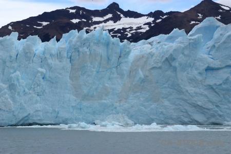 Terminus water perito moreno patagonia south america.