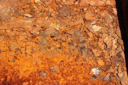 Texture brown orange rust.