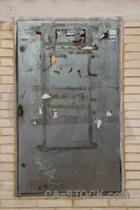 Texture door gray.