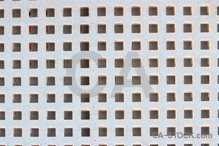 Texture grill grid white metal.