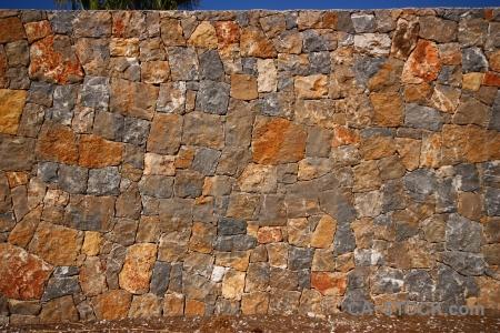 Texture javea stone wall europe.