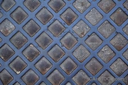 Texture metal pattern spain javea.