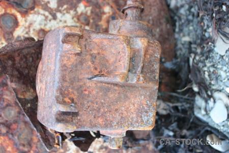 Texture object rust metal.