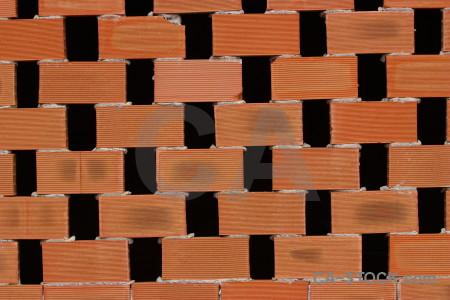 Texture orange brick.