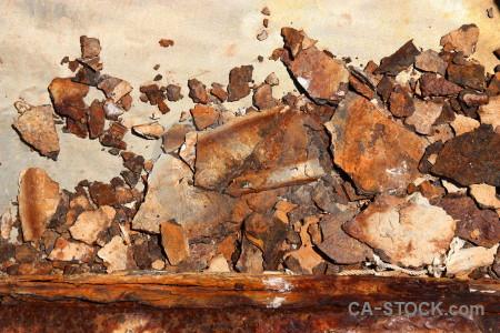 Texture orange brown rust.