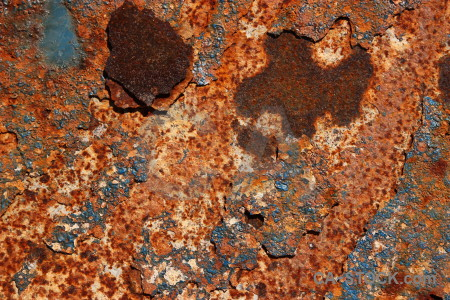 Texture orange brown rust red.