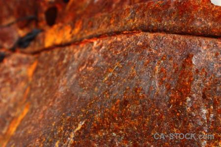 Texture orange red rust brown.