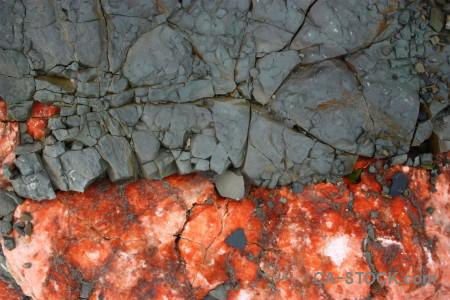 Texture rock red orange stone.