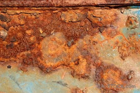 Texture rust orange.