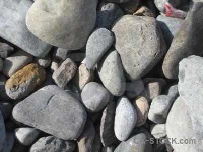 Texture stone gray gravel.