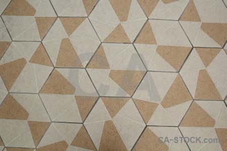 Texture tile floor.