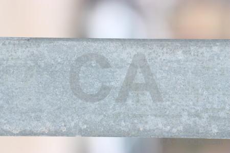 Texture white metal.