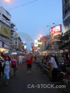 Thailand asia bangkok khaosan building.