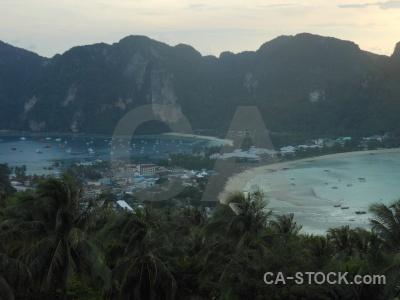 Thailand asia tropical ko phi don water.