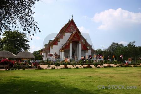 Thailand ayutthaya unesco cloud southeast asia.