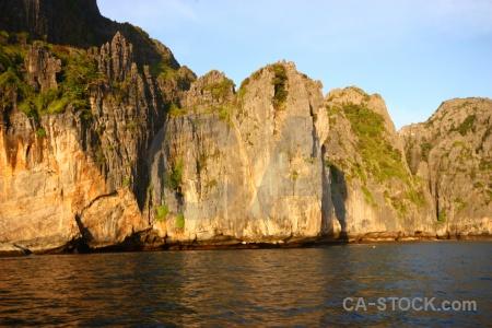 Thailand cliff ko phi leh ley water.