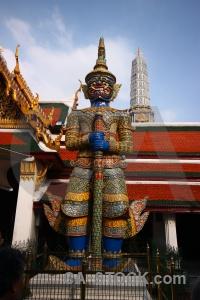 Thailand grand palace wat phra si rattana satsadaram temple yaksha.