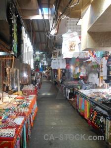 Thailand market tropical koh panyee asia.