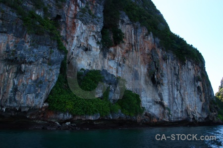 Thailand rock ko phi leh asia southeast.