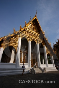 Thailand wat phra kaeo cloud building buddhist.