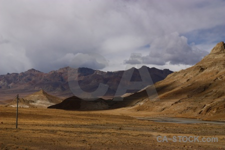Tibet altitude arid cloud dry.