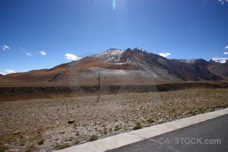 Tibet altitude asia cloud arid.