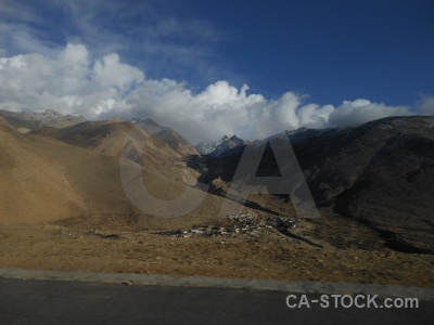 Tibet asia sky plateau cloud.