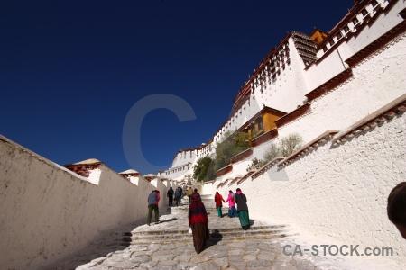 Tibet buddhism palace lhasa altitude.