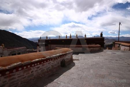 Tibet china lhasa altitude gambo utse.