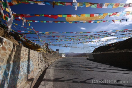 Tibet cloud altitude sky buddhism.
