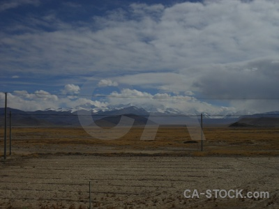 Tibet cloud plateau friendship highway sky.