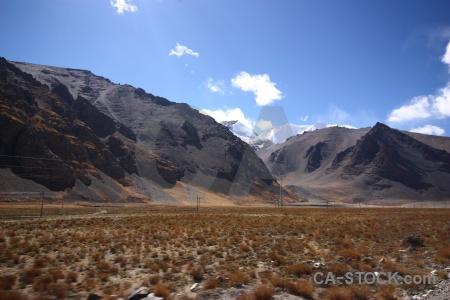 Tibet desert mountain sky himalayan.