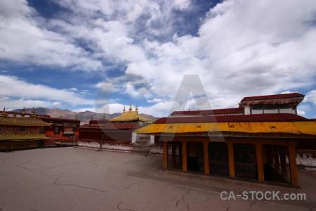 Tibet sky china roof altitude.