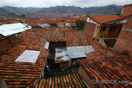 Tile cusco mountain unesco sky.