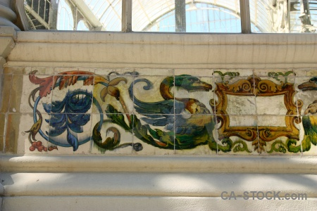 Tile madrid parque del retiro crystal palace europe.