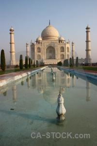 Tomb mughal minaret shah jahan pool.