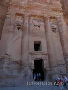Tomb rock jordan ancient asia.
